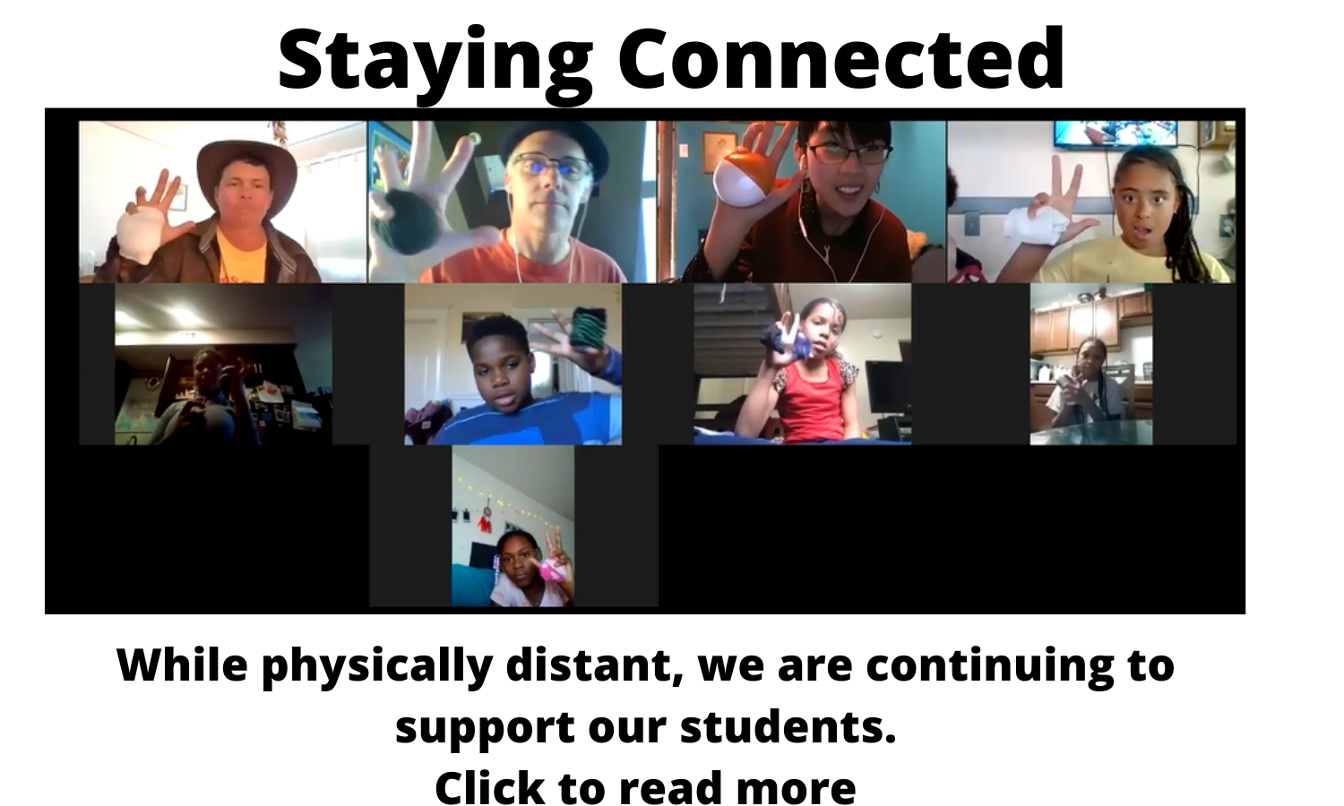 Staying Connected 1
